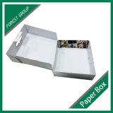 Ropa de la cartulina que empaqueta el rectángulo con la maneta plástica (FP8039120)