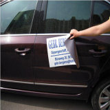 Livrar a etiqueta macia do ímã do carro do PVC do projeto