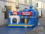 Раздувной оживлённый замок для малышей, используемый оживлённый замок с скольжением комбинированным