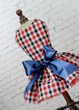 غلّة كرم أحمر زرقاء [مينيغغ] ثوب لأنّ محبوب ملابس صدرة حاجات