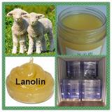 皮の美CAS 8006-54-0のための高水準の黄色のクリームのラノリン