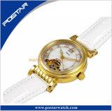 OEM Wijzerplaat paste het mechanische Horloge van de Mode van de Beweging Unisex- aan