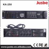 Amplificador de potencia Ka-250 4 amplificador de las maneras/4 canales