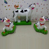 Equipamento de recreio mais novo e engraçado Farm Theme Cow Set (MC004)