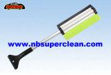 Cepillo de aluminio extensible de la nieve del coche de la maneta, cepillo telescópico de la nieve (CN2246)