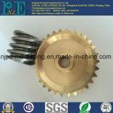OEMの精密CNCの機械化の真鍮の女性糸のニップル