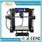 Machine 220X220X240mm van de Printer van de Printer van het Grote Formaat van de hoge Resolutie 3D Digitale met de Pijp van de Extruder