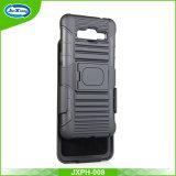安い価格の二重層TPUのパソコンのSamsungギャラクシーコアプライム記号G360のためのコンボの耐震性の細く堅い装甲携帯電話の裏表紙のケース
