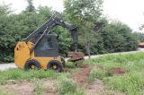 スキッドの雄牛のローダーで使用される掘る穴のためのアース・オーガー