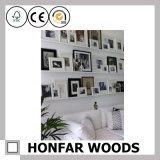 Arte do retrato Frame/DIY da parede da pálete com madeira