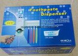 Коснитесь мне автоматический распределитель зубной пасты с держателями зубной щетки