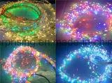 가정 훈장 크리스마스 LED 구리 철사 USB 끈 빛