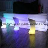16colors Waterproof o contador reto da barra do RGB da mobília plástica do diodo emissor de luz para eventos