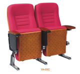 Modernes rotes bequemes Heimkino-Couch-Lagerungs-Media-Sofa