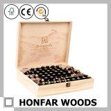 Grande caixa de madeira de armazenamento de madeira de caixa de óleo essencial