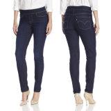 De beste Verkopende Hete Jeans van het Denim van de Dames van de Manier Magere