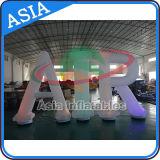 Decorazione gonfiabile di pubblicità popolare, lettera gonfiabile di illuminazione, alfabeto con la lampadina del LED