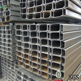 Светлый строительный материал Purlin раздела стальной структуры покрашенный z