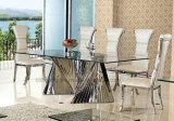 2016 starker Kauf, bester Qualitätsmoderner Entwurfs-ausgeglichenes Glas-Spitzenspeisetisch