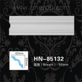 Corniche de polyuréthane moulant le panneau de plafond d'unité centrale Hn-85132