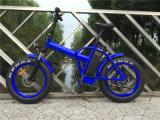 전기 바닷가 뚱뚱한 타이어 자전거 Rseb507를 접히는 500W 48V