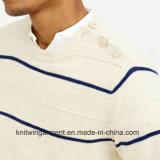 Кофточка свитера Spandex шеи черепахи людей способа OEM (M17-316)
