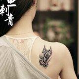 Schreckliche Zeichen-Schädel-Tätowierung-Aufkleber-Karosserie Tatto für Karosserien-Kunst