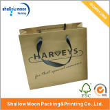 Custom luxuoso Paper Gift Packaging Bag com Handle (AZ-121719)