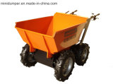 Ceifeira da palma de petróleo com movimentação Chain 4WD