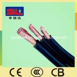 Kupferne angeschwemmtes H07V-K elektrisches flexibles Kabel des Kern Belüftung-Isolierung Draht-6mm