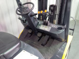 Forklift do Un 1.5t Nissan LPG com o mastro do recipiente 3-Stage de 4700mm