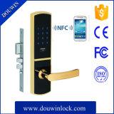 Le blocage le plus neuf de porte coulissante de lecteur de cartes de NFC pour l'appartement