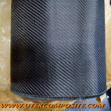 tela del carbón de la tela cruzada de la longitud de la anchura el 100m de 280GSM el 1m