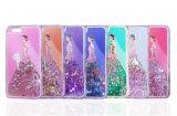 Bling a peint le cas de téléphone cellulaire de princesse les sables mouvants TPU pour l'iPhone/Samsung/LG/Moto