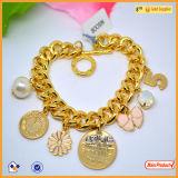 [هيغقوليتي] معدن عالة يفتن علامة تجاريّة نوع ذهب مجوهرات علامة تجاريّة بطاقة سوار لأنّ فتنة
