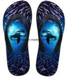 La mayoría de los zapatos ocasionales del deslizador del fracaso de tirón de la impresión popular 3D (FF68-14)