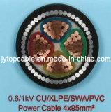 cabo de 0.6/1kv 2nx com 4 núcleos