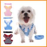 Holiday Wedding Party Wearのための125cm Length Pet Dog Cat Stripe Harness Leash