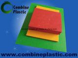 Folha da espuma do PVC dos materiais de anúncio popular com a película do vinil do PVC