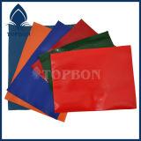 Покрынная PVC ткань полиэфира для мешка и багажа Tb034