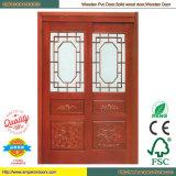 Porte affleurante de porte de placage d'usine de porte