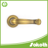 コーヒーColor Zinc Alloy Door Handle、Double Door Hardware、Door Hardware