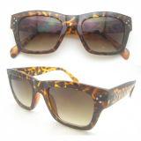 Klassische Form-Entwurfs-Frauen-Sonnenbrillen mit polarisiertem Objektiv