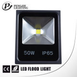 Energy Saving 50W LED Projector para exterior com CE (IP65)