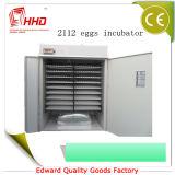 Preiswerter automatischer Ente-Ei-Inkubator für 2112 Huhn-Eier