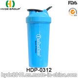 BPA освобождают пластичную бутылку порошка протеина, пластичную бутылку Shake (HDP-0312)