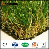 庭のためのU Shape Green Artificial Turf Tiles