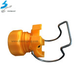 産業水調節可能な球クランプ管のノズル