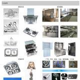 Faser-Laser-Metalllaser-Scherblock-Stahlgefäß-Ausschnitt-Maschine