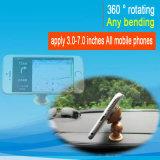 Support universel de véhicule de cuvette d'aspiration de rotation mobile de téléphone cellulaire